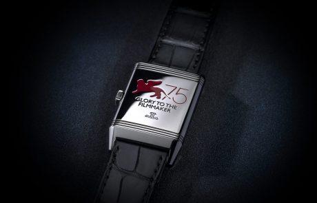Jaeger-LeCoultre séduit la Mostra de Venise avec sa montre Reverso
