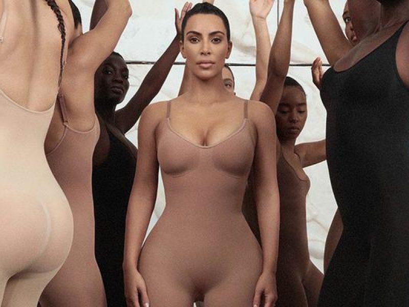 Kim Kardashian au plus près du corps