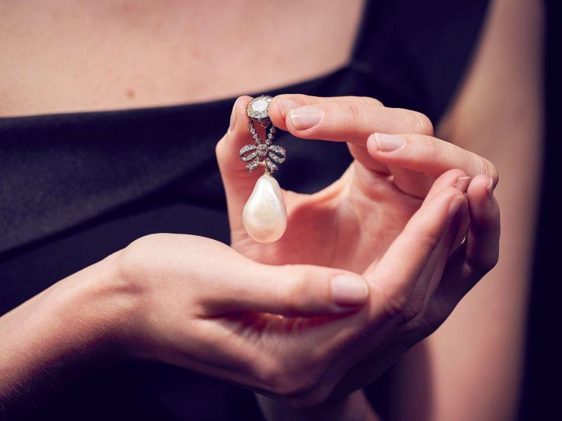 La perle de Marie-Antoinette vendue aux enchères