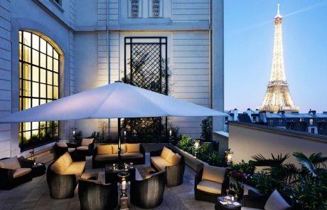 Le Shangri-La accueille un bar à ciel ouvert Krug